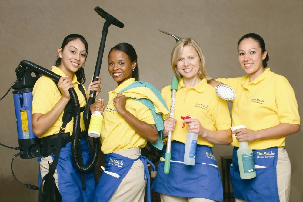 Our Professional Cleaning Team Maid Service Maid