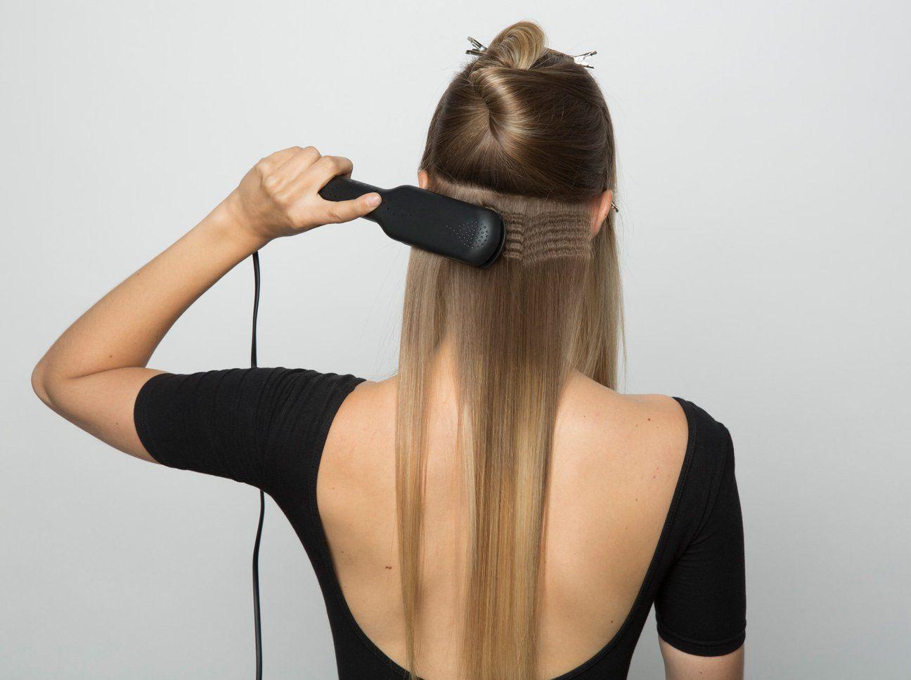 Schritt 3 Dunnes Haar Haare Krepp