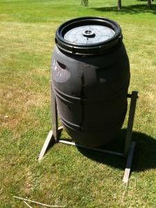 Compost tumbler Composter For Sale $35 central NJ craigslist | edit