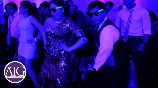 Nc Wedding Dj Brian Hines Rocks Samantha Vinhs Wedding The