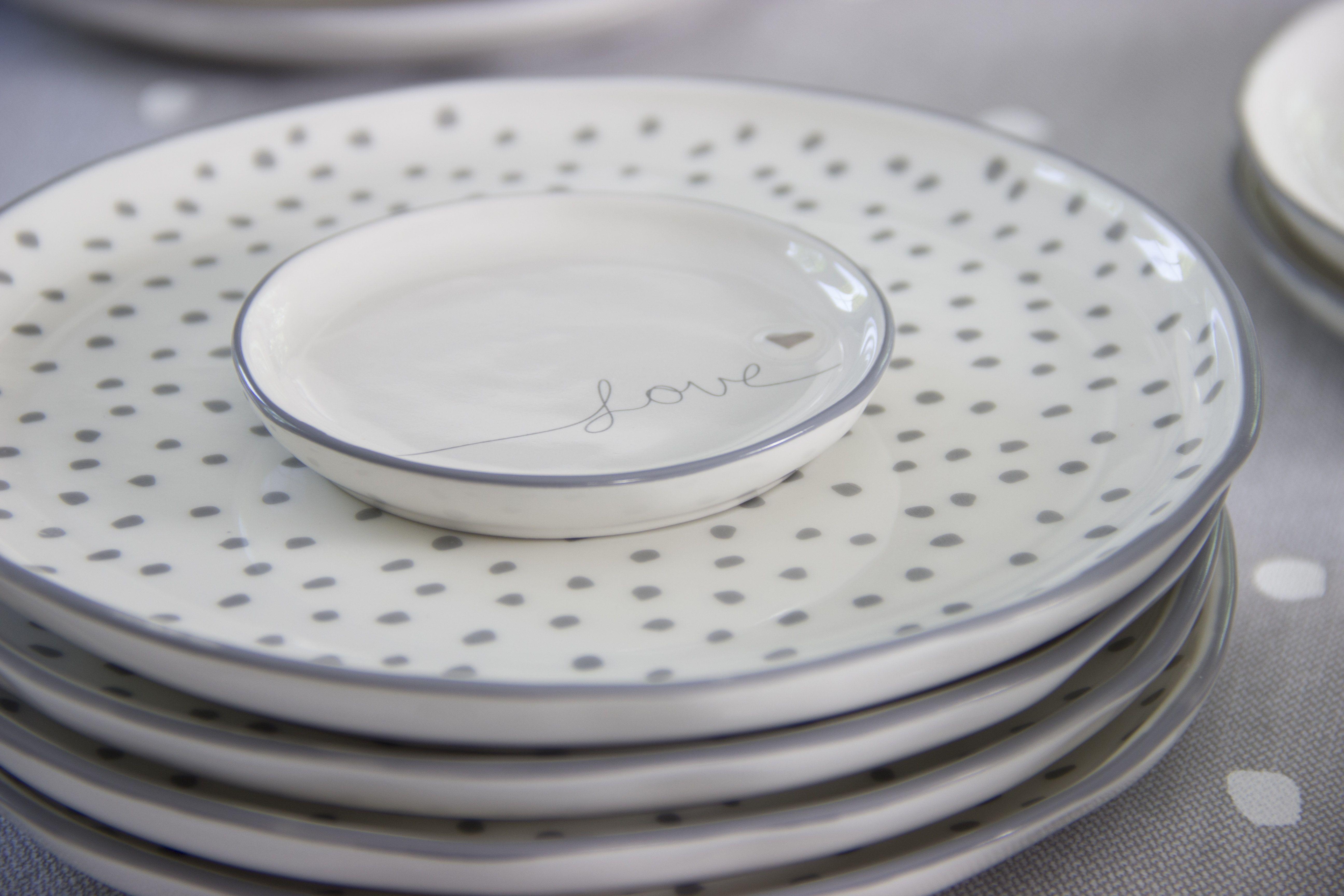 Bc Ceramics Winter 2017 Love Bc Ceramics Dots Grey Love Bastioncollections Bastion Tableware Ceramics