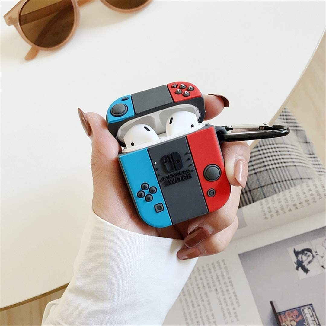 A Joy-Con controller-shaped Air pod case cover for gadget lovers who know this is…