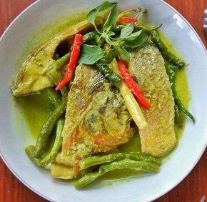 Resep Gulai Kuning Ikan Bawal Dengan Buncis Gulai Resep Masakan Resep Ikan