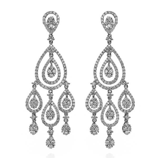 Diamond chandelier earrings google search earings pinterest diamond chandelier earrings google search aloadofball Images