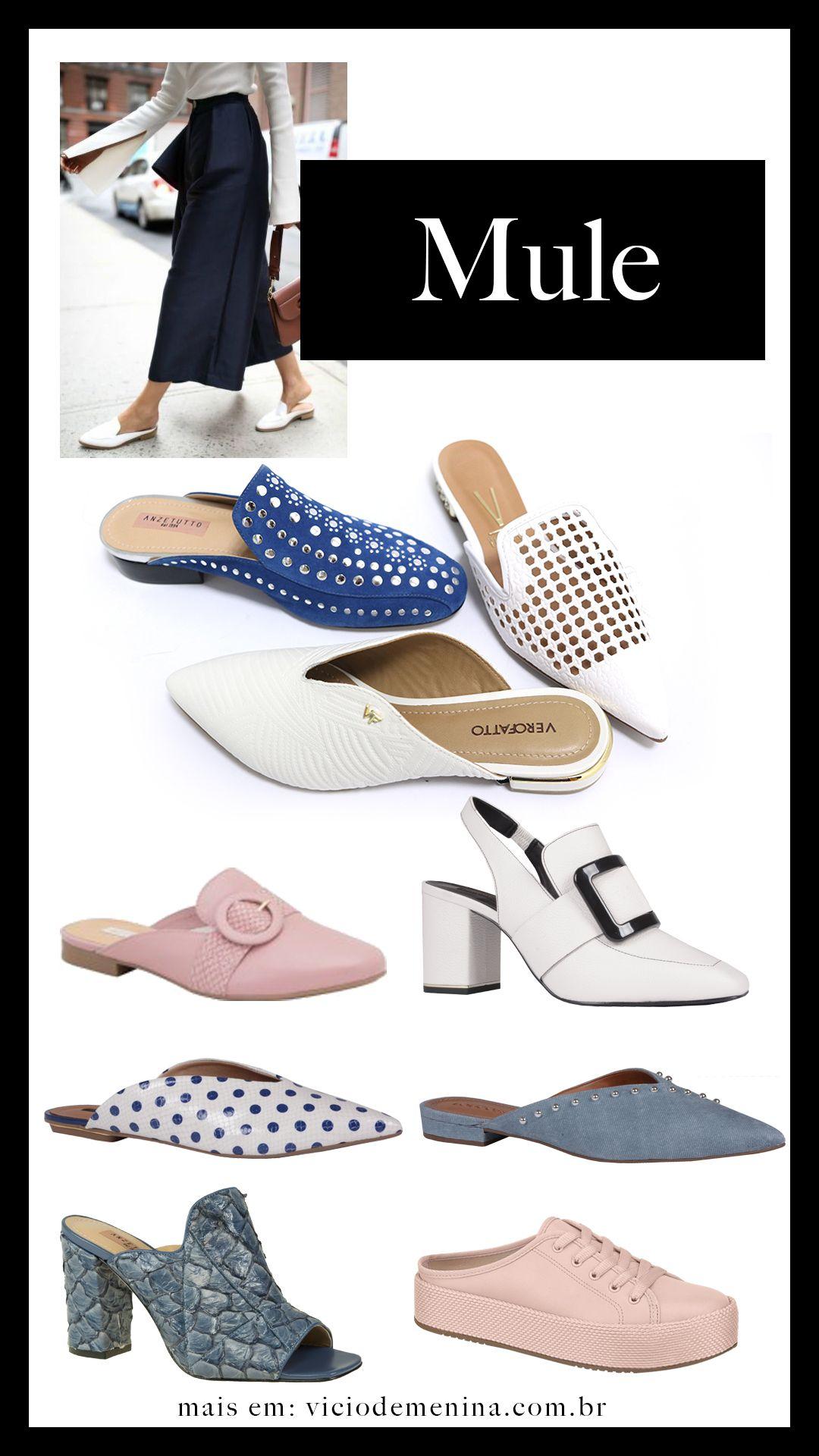 5bc63037cb Tendências Primavera Verão 2019 para Sapatos Femininos