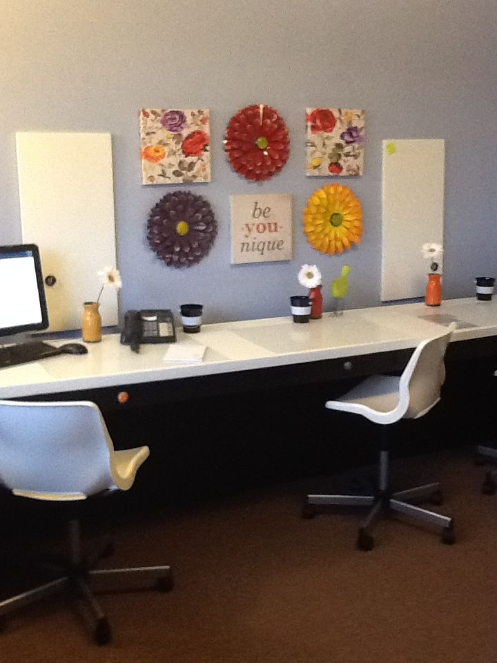 Pre School Child Care Center Lobby Office Ideas: Daycare Office Workroom
