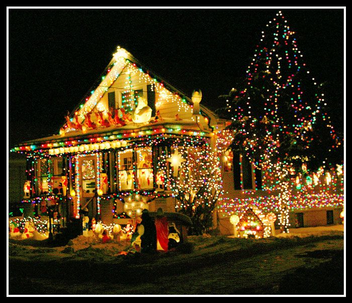 Craziest Christmas Light For Outdoor Viewing Ever Natal Luz