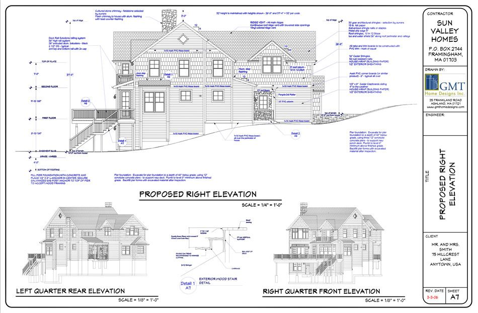 Plans sets construction drawings 3d renderings and Residential building plan sample