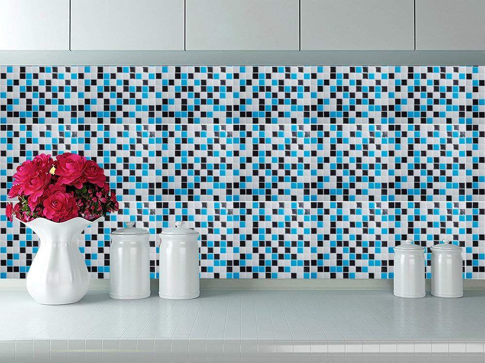 Amazon Com Cocotik Peel And Stick 3d Vinyl Sticker Kitchen Backsplash Tiles 10 X10 Pack Of Kitchen Tiles Backsplash Faux Brick Wallpaper Wall Art Wallpaper