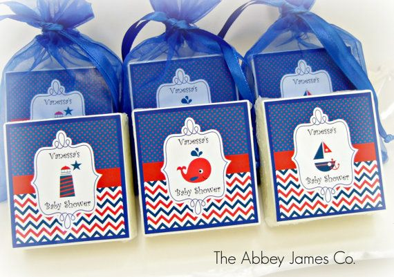 Nautical Baby Shower Favors Nautical Party Favors By AbbeyJames, $48.00