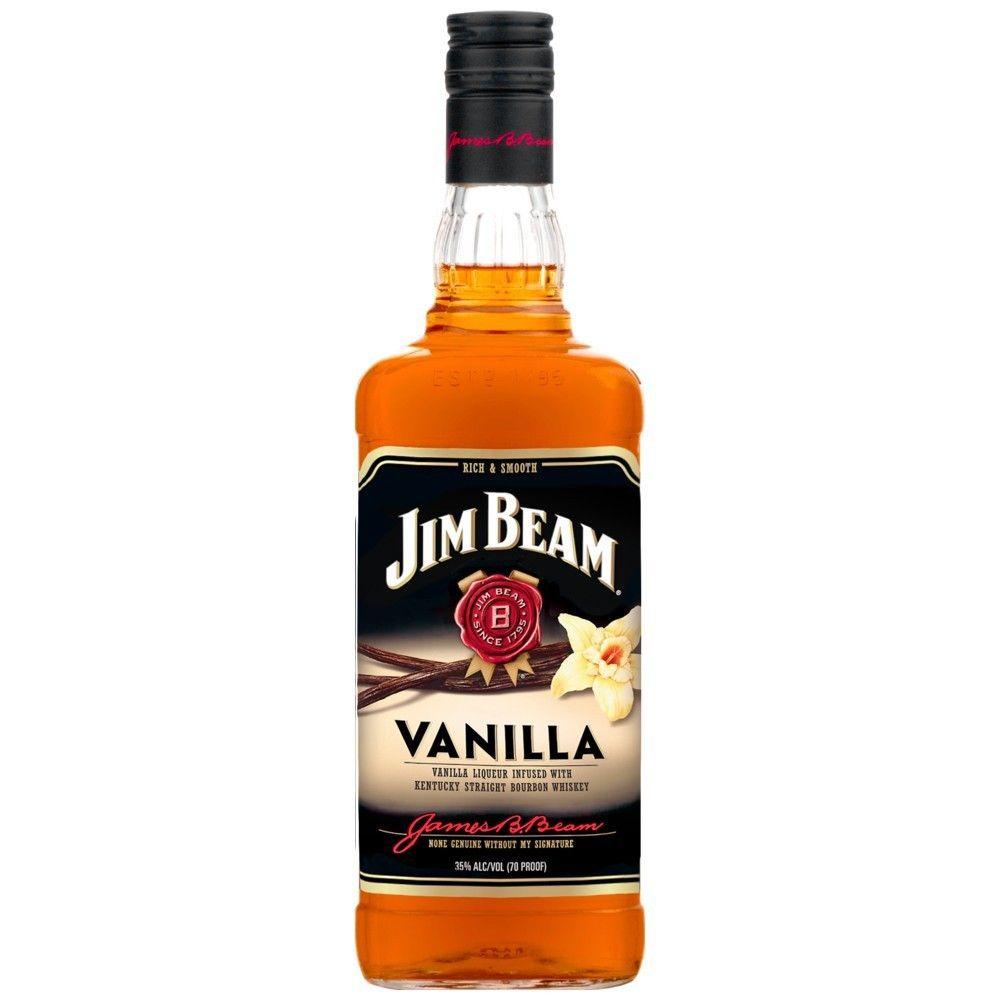 Jim Beam Vanilla Bourbon Il Bottle Bourbon Bourbon Whiskey Diy Beer Pong Table