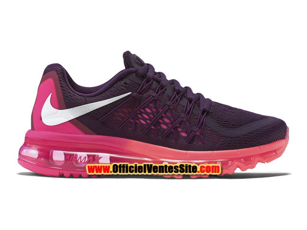quality design a5211 3c2df SALE just in Womens Nike Air Max 2015 Running Shoes PurplePink FoilHot  LavaWhiteSwarovski Nike Bling shoes Running gorgeous