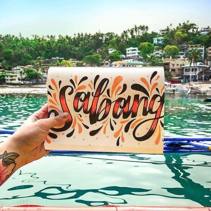 Sabang Artist Amanda Creates Location Puerto Galera
