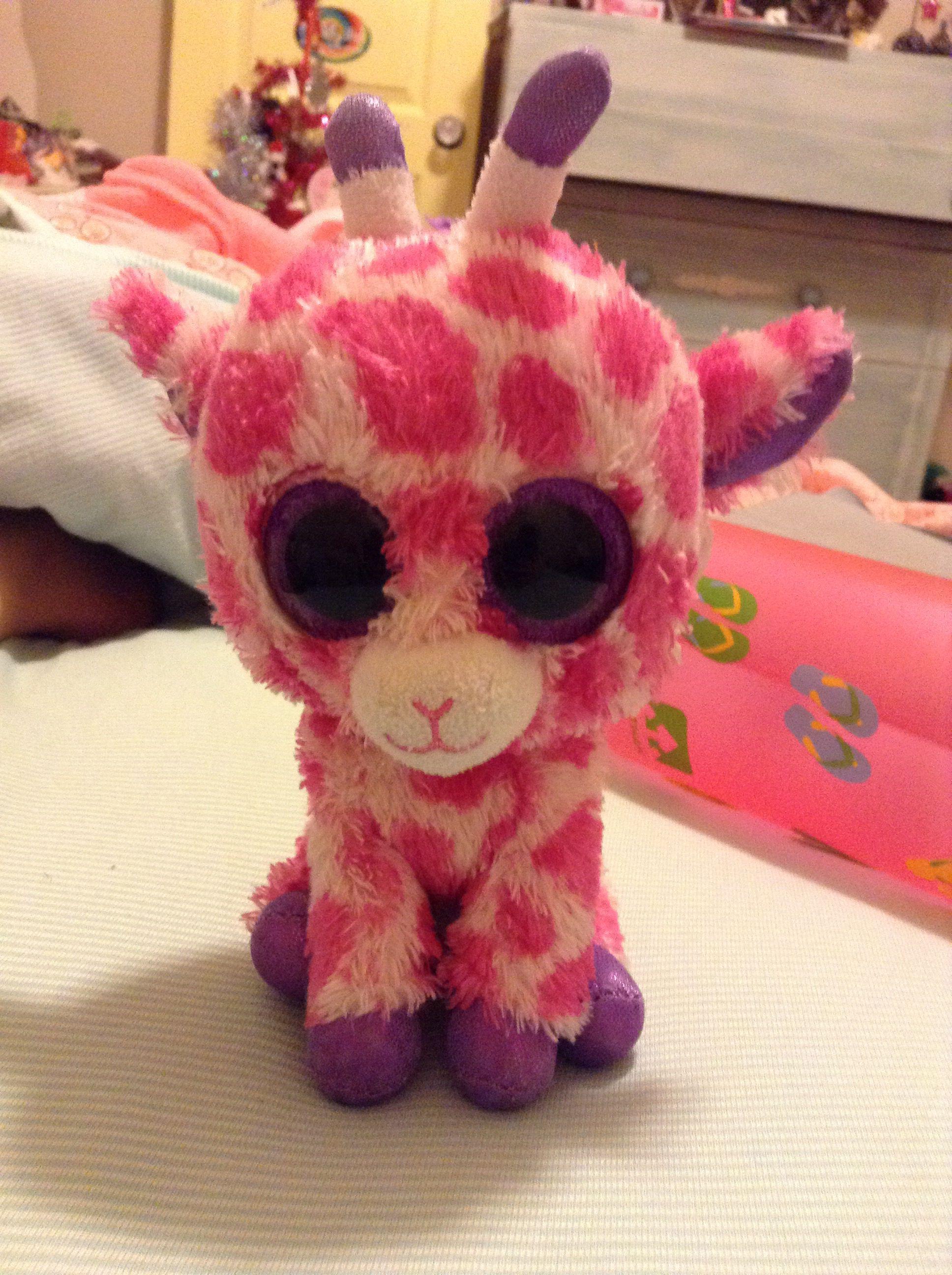0f7e39b4cd1 Pink giraffe Beanie Boo