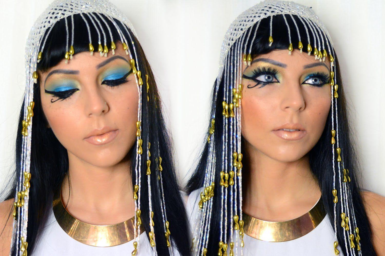 Cleopatra of Egypt Halloween Makeup Cleopatra