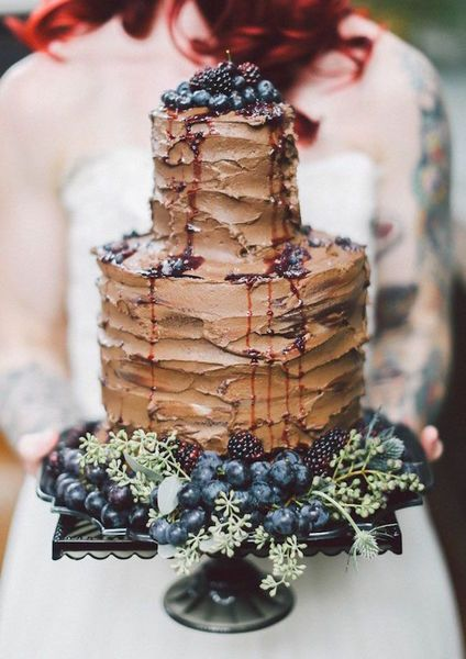 15 Beautiful Chocolate Cakes