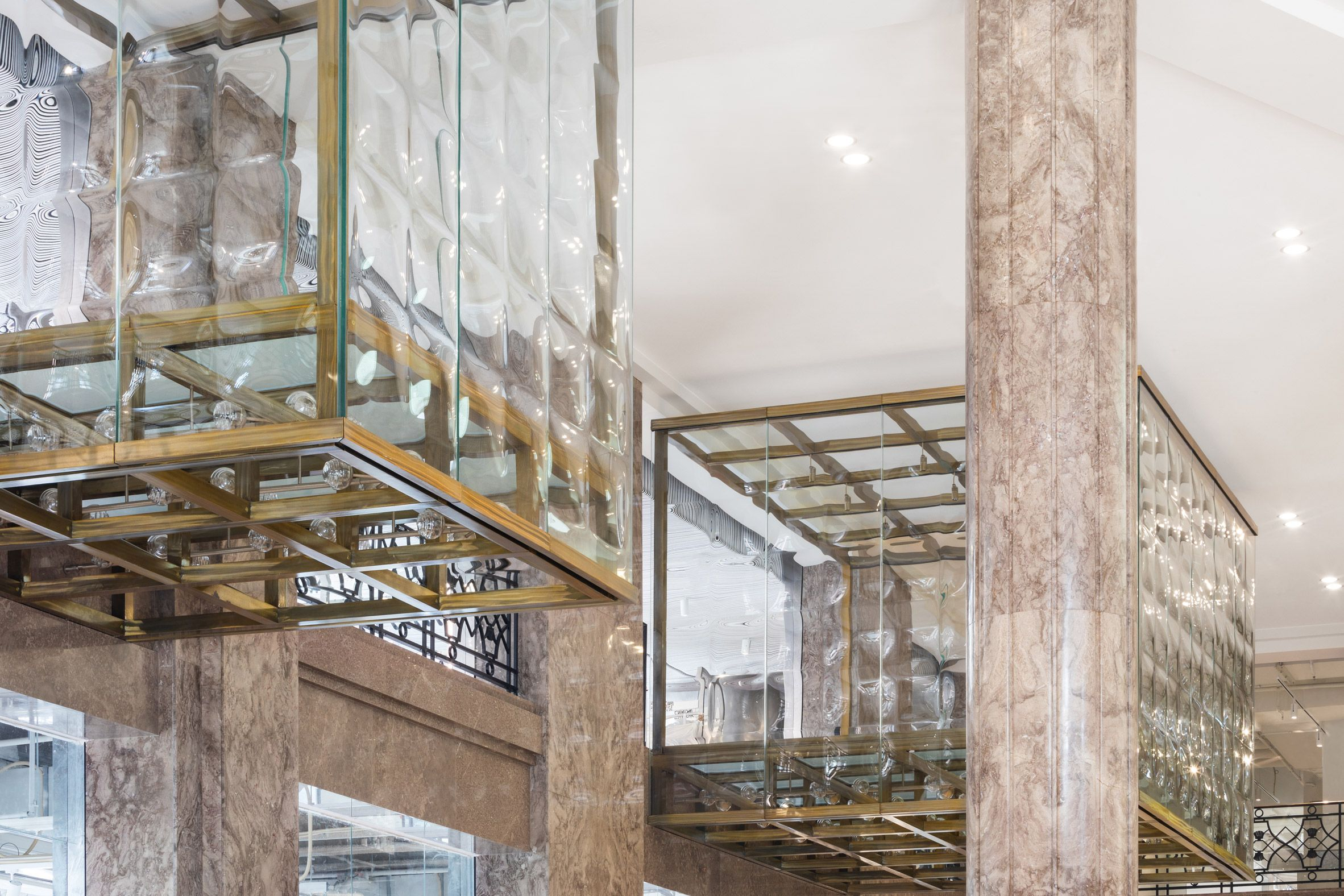 Big Completes Galeries Lafayette Store On Champs Elysees In Paris Champs Elysees Gallery Art Deco Fashion