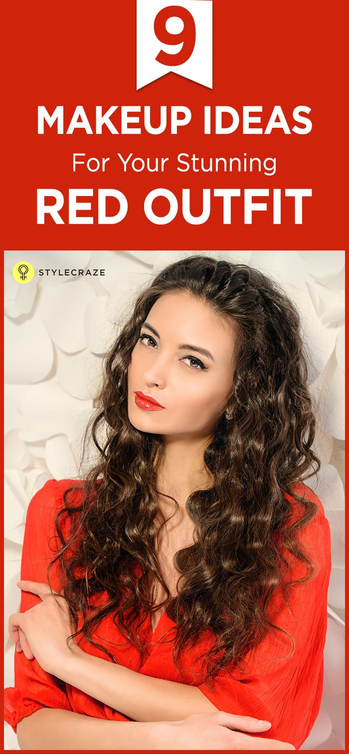 9 Stunning Makeup Ideas You Can Try With Your Red Dress