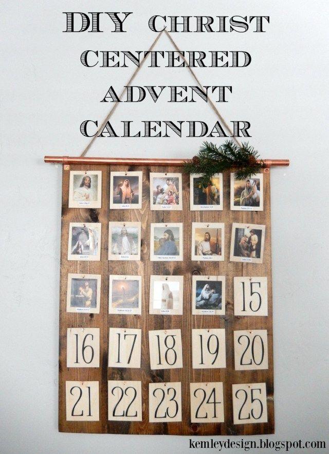 Diy Calendar Uk : Diy christ centered advent calendar calendars