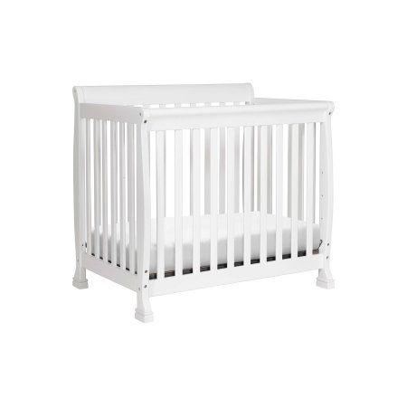 Davinci Kalani 4 In 1 Convertible Mini Crib Grey Walmart Com Mini Crib Cribs Convertible Crib