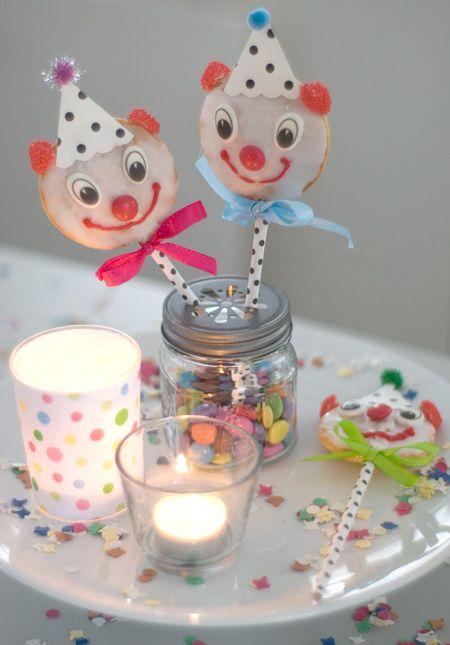 Partyideen Fur Eine Zirkusparty Zirkus Kindergeburtstag