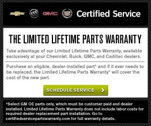 The Limited Lifetime Parts Warranty At Orange Buick Gmc Http Www