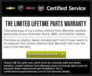 The Limited Lifetime Parts Warranty At Orange Buick Gmc Http Www Orangebuickgmc Com Service Gmc Buick Buick Gmc