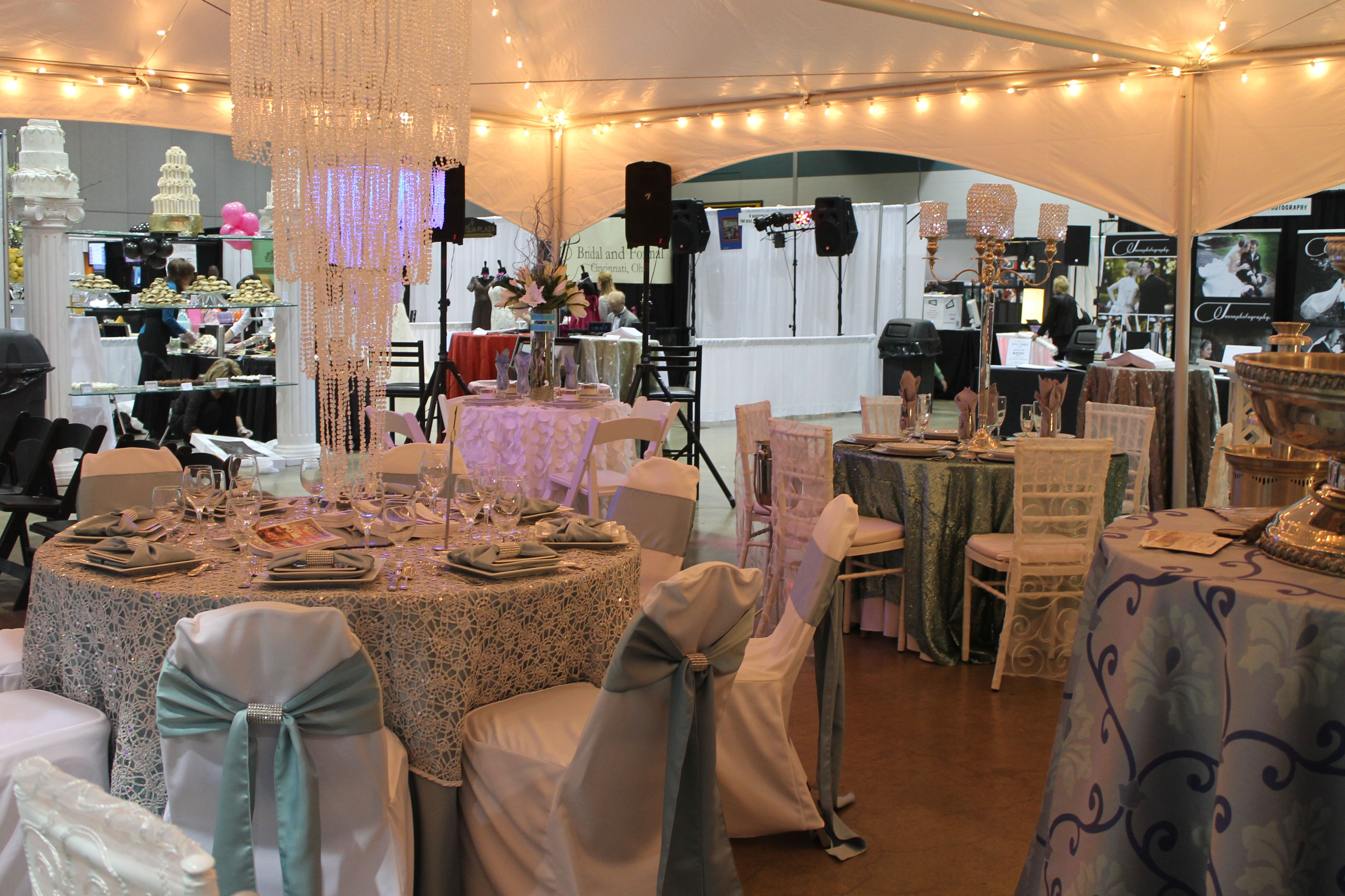 Wedding Expo Booth Ideas: Wedding Expo Booth Layout For Party Rental Store