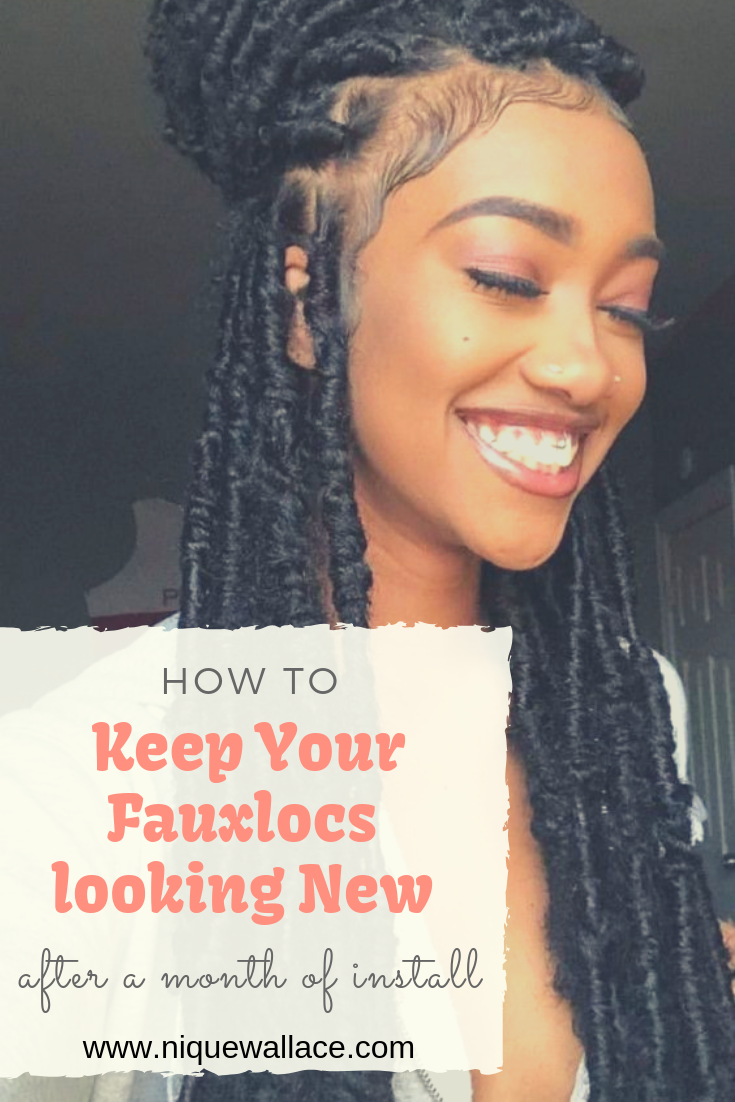 How To Wash And Treat Your Hair After Removing Faux Locs Nique S Beauty Faux Locs Hairstyles Indian Hair Care Natural Hair Styles Easy