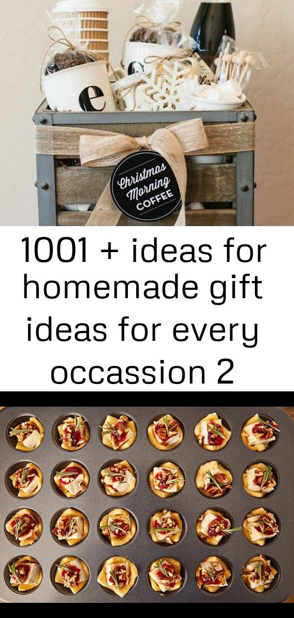 ▷1001 + ideas for homemade gift ideas for every occassion 2 #cranberrybriebites