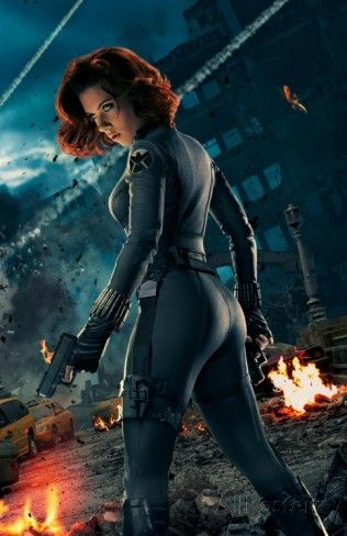 Avengers Black Widow Textless Posters At Allposters Com