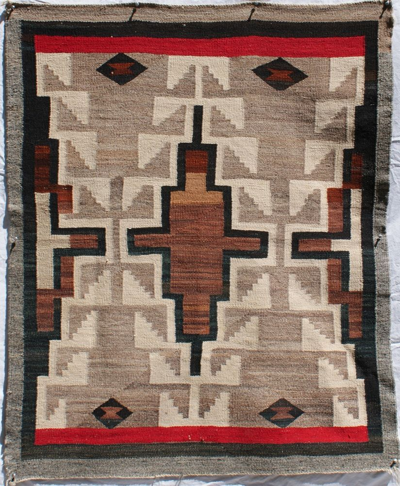 Navajo Indian Rug 1930 S Stacked