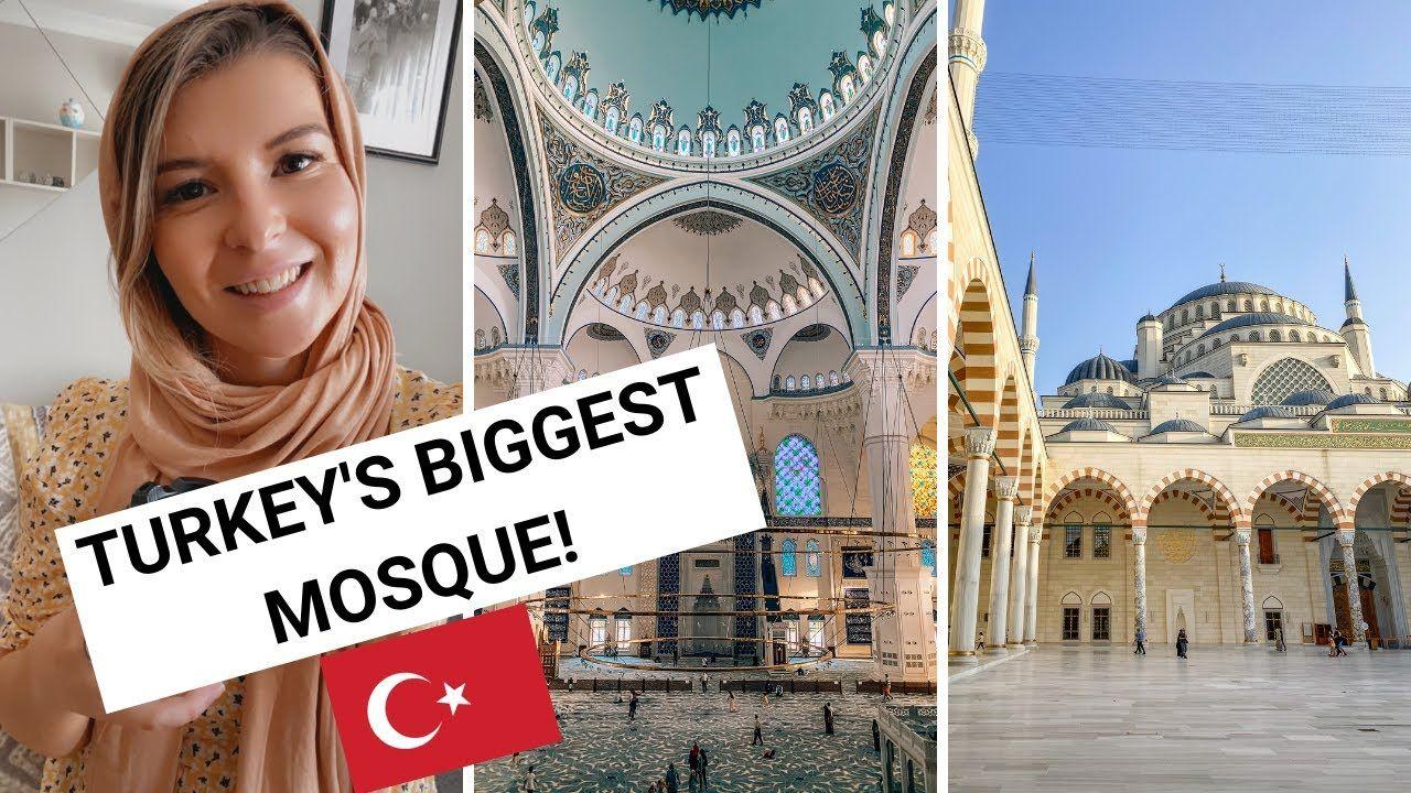 Çamlıca Mosque | 🇹🇷 TURKEY'S BIGGEST MOSQUE 🕌 | Ellie Quinn