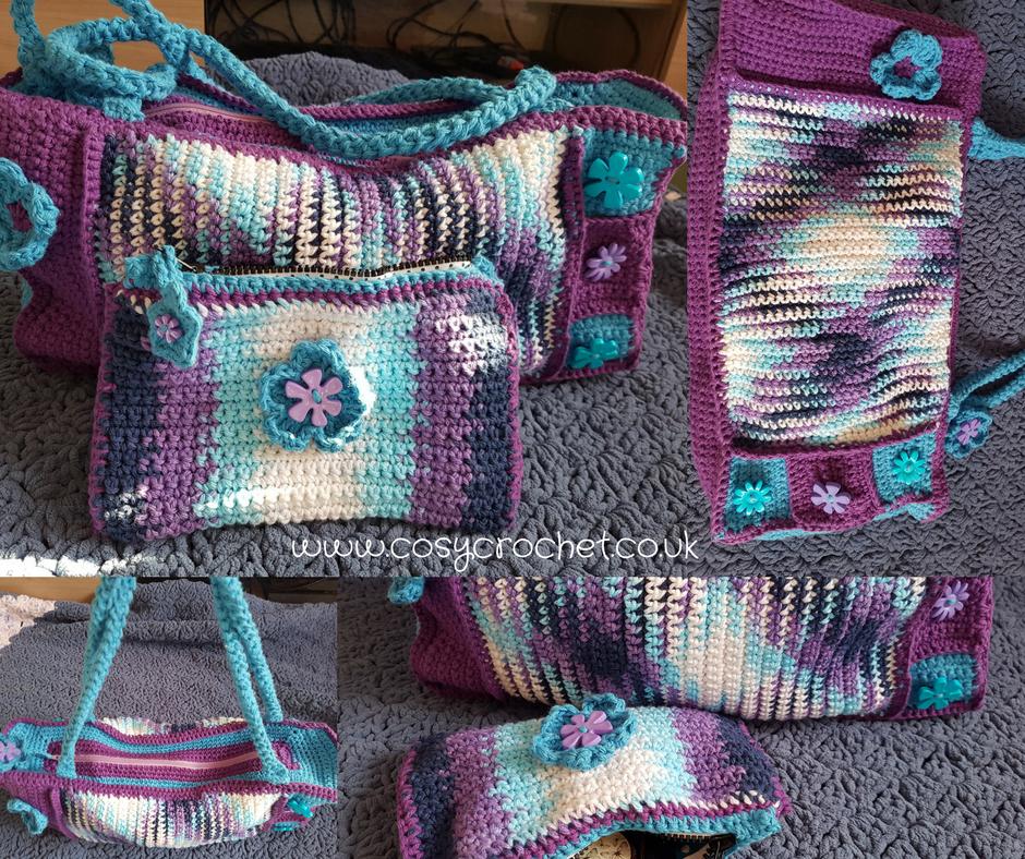 Free Planned Pooling Crochet Bag Pattern Blogger Crochet Patterns