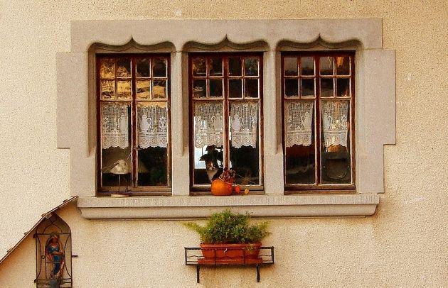 Fenster und Tür