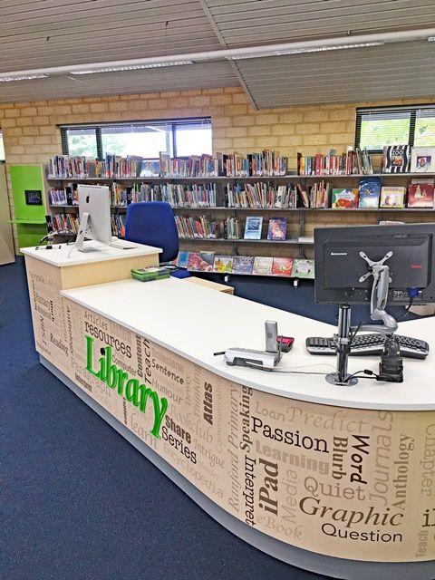Library Furniture Circulation Desk