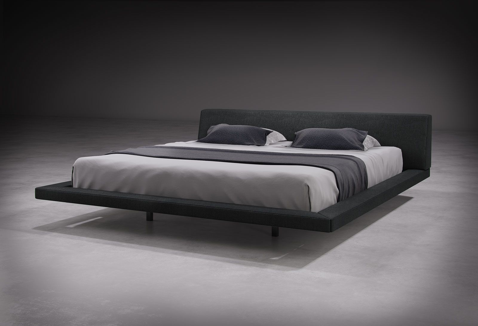 The hip yet timeless Jane bed makes for a stunning