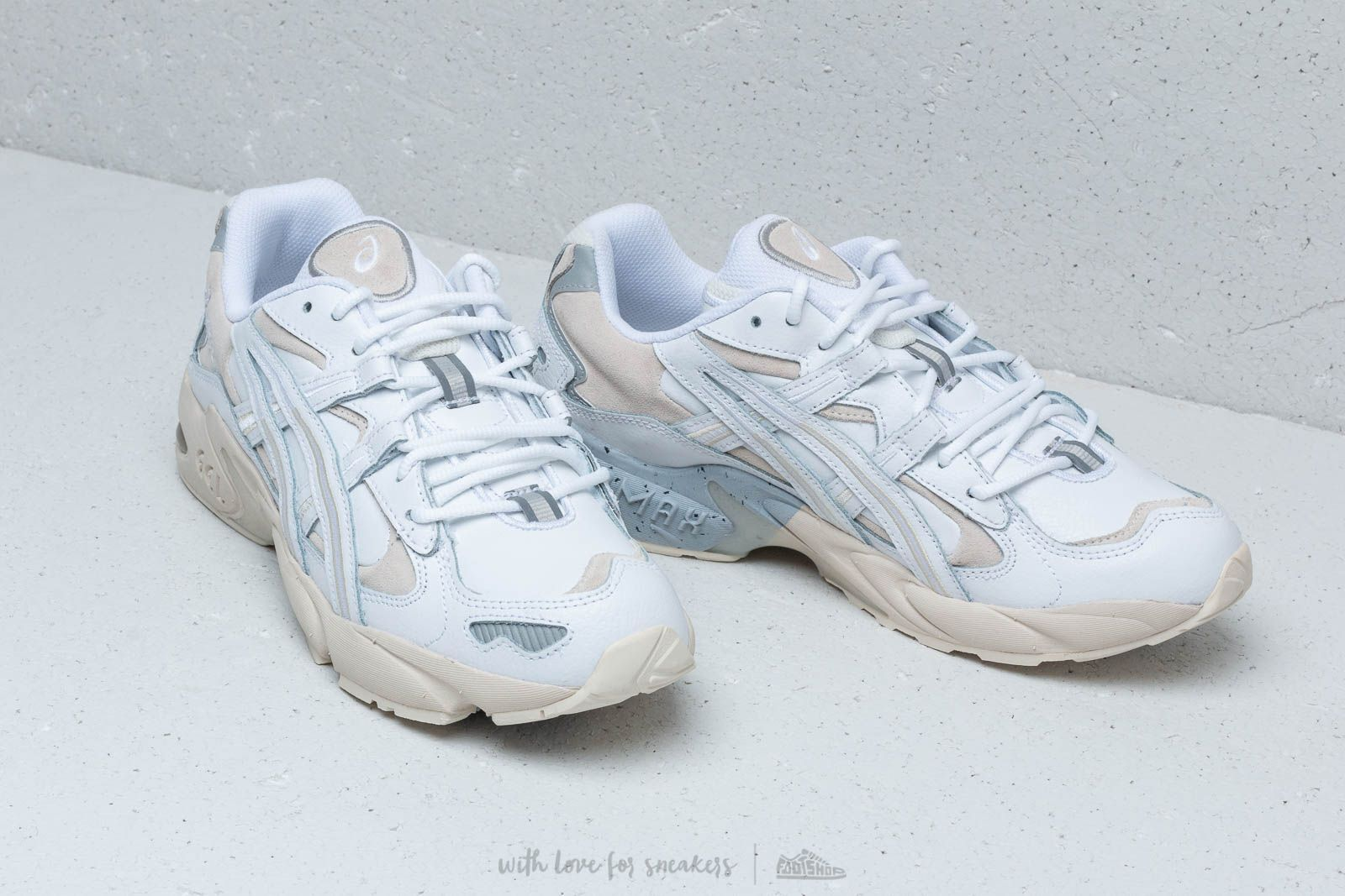sale retailer 6438c 29799 Asics Gel-Kayano 5 OG White/ White | CHAUSSURES in 2019 ...