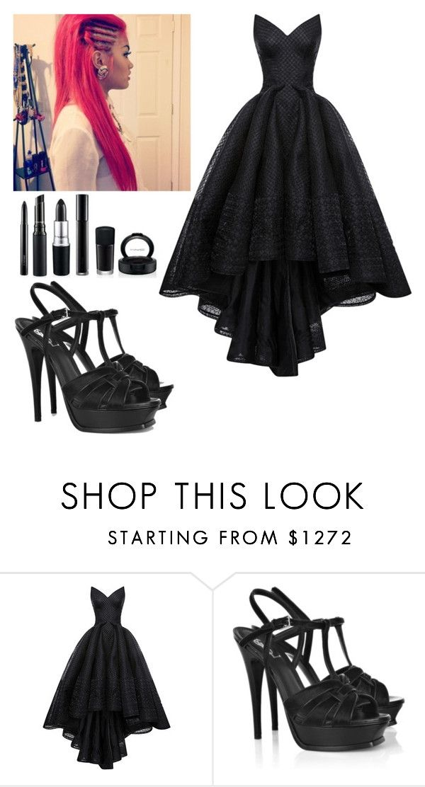 """Goddess of the after life- Nora"" by dancer-girl589 on Polyvore featuring Tiffany & Co., Zac Posen and Yves Saint Laurent"