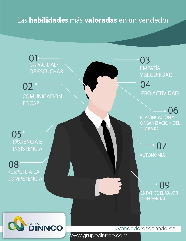 Las habilidades más valoradas en un vendedor Vendedores Ganadores ...