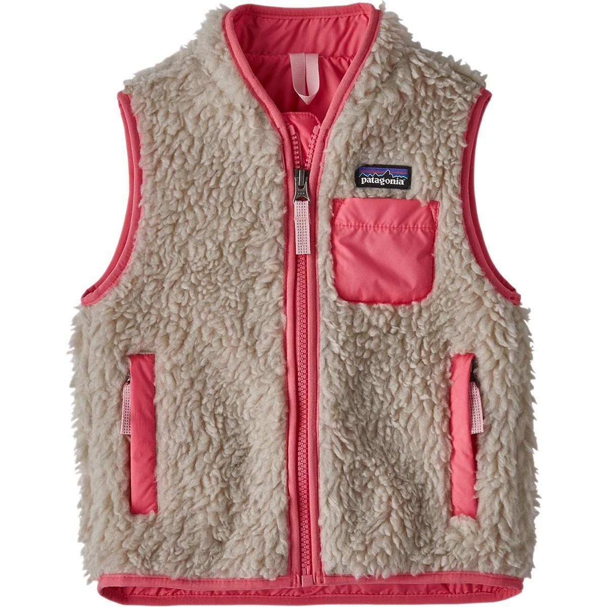 Patagonia Retro X Fleece Vest Toddler Girls Patagonia