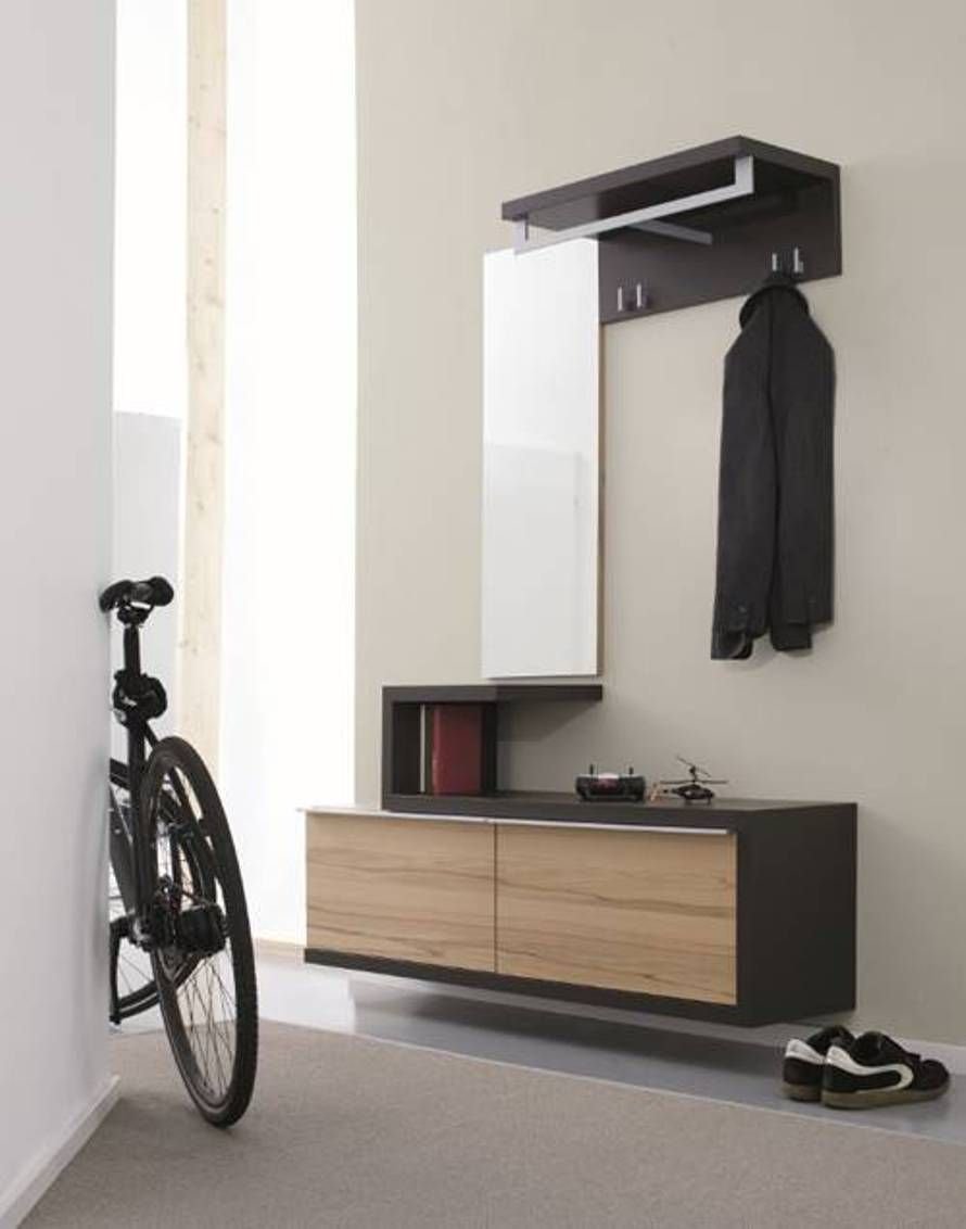 modern foyer furniture. Way Too Modern But I Like The Idea Of A Floating Bench, Foyer Furniture Pinterest