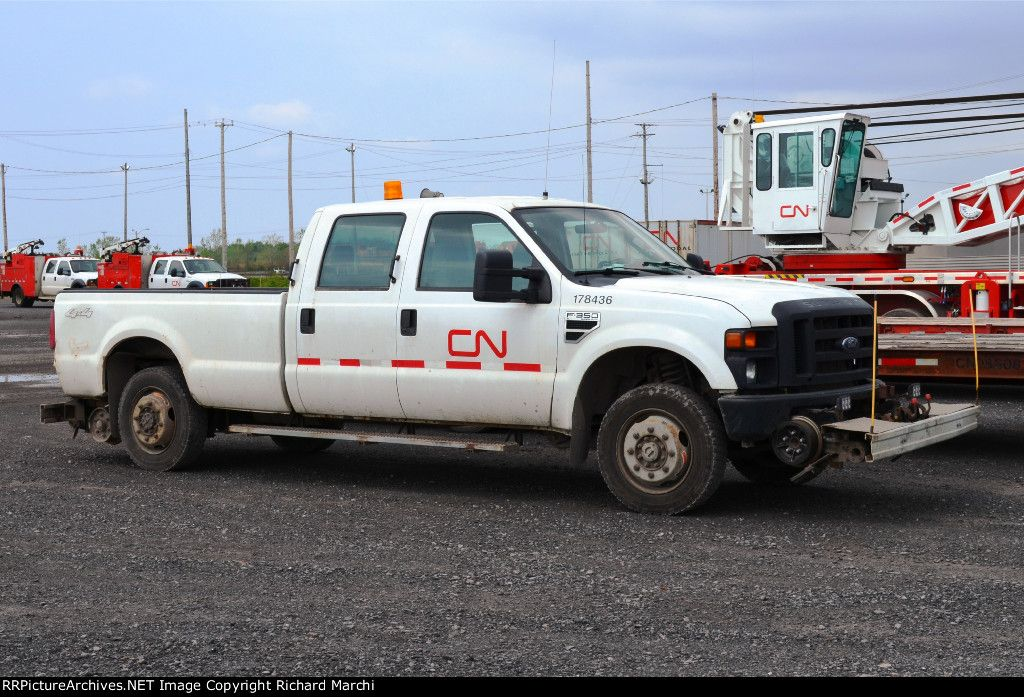 Cn 178436 2008 Ford F 350 Crew Hyrail Pickup May 10 2015