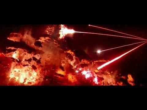 Star Wars VII: The Force Awakens (2015) - New Republic Destroyed Scene - YouTube