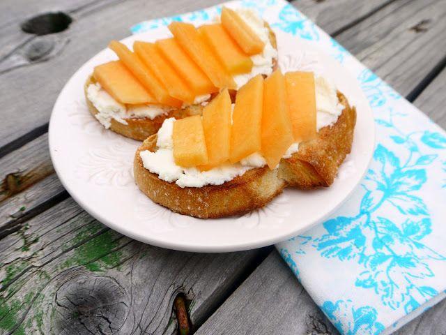 Eighty Twenty: 80--- Ricotta Cantaloupe Toast