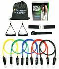Resistance Bands - Tension Band Set for Weights Exercise Fitness Workout - He... #Fitness