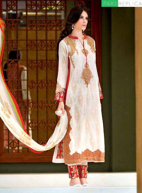 f09c43e50c charizma replica price:3200 cash on delivery free home delivery for order:msg  on pinterest &watsapp on:03122640529   PEHNAVIYAN   Eid dresses, ...