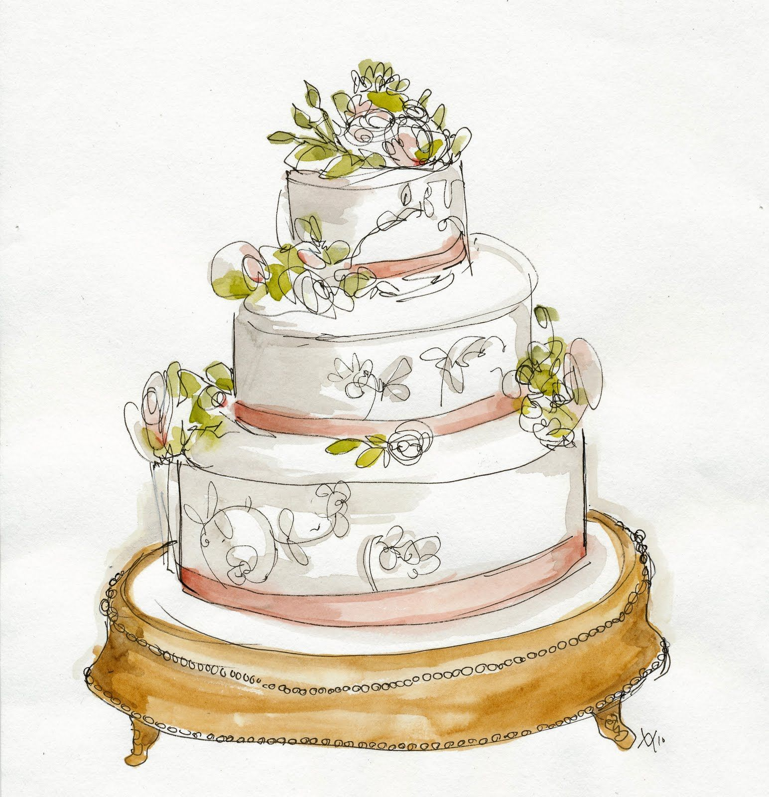 Img 0001 Jpg 1 544 1 600 Pixels Wedding Cake Drawing Wedding