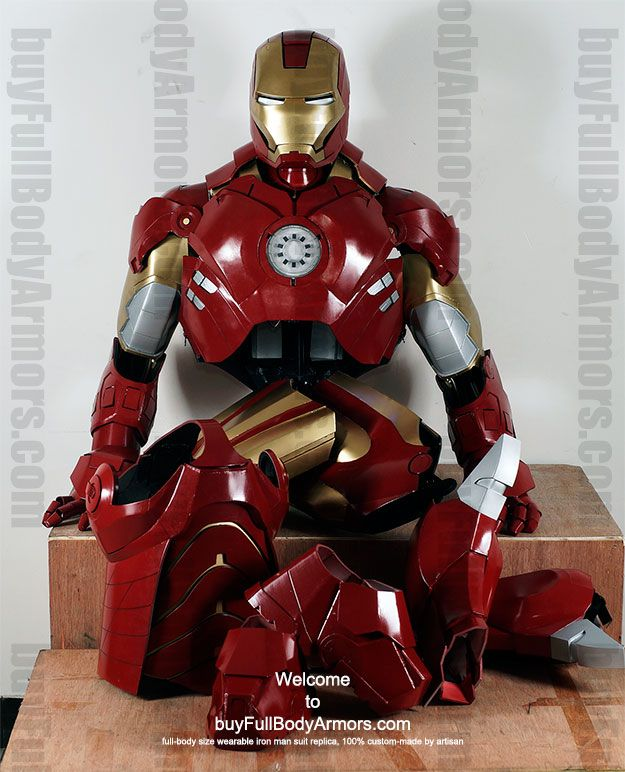 Buy Iron Man Costume Suit | Buy Now! Ultra realistic wearable IRON ...