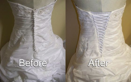 Alteration Sewing Images Google Search Sewing Wedding Dress Corset Back Wedding Dress Dress Makeover